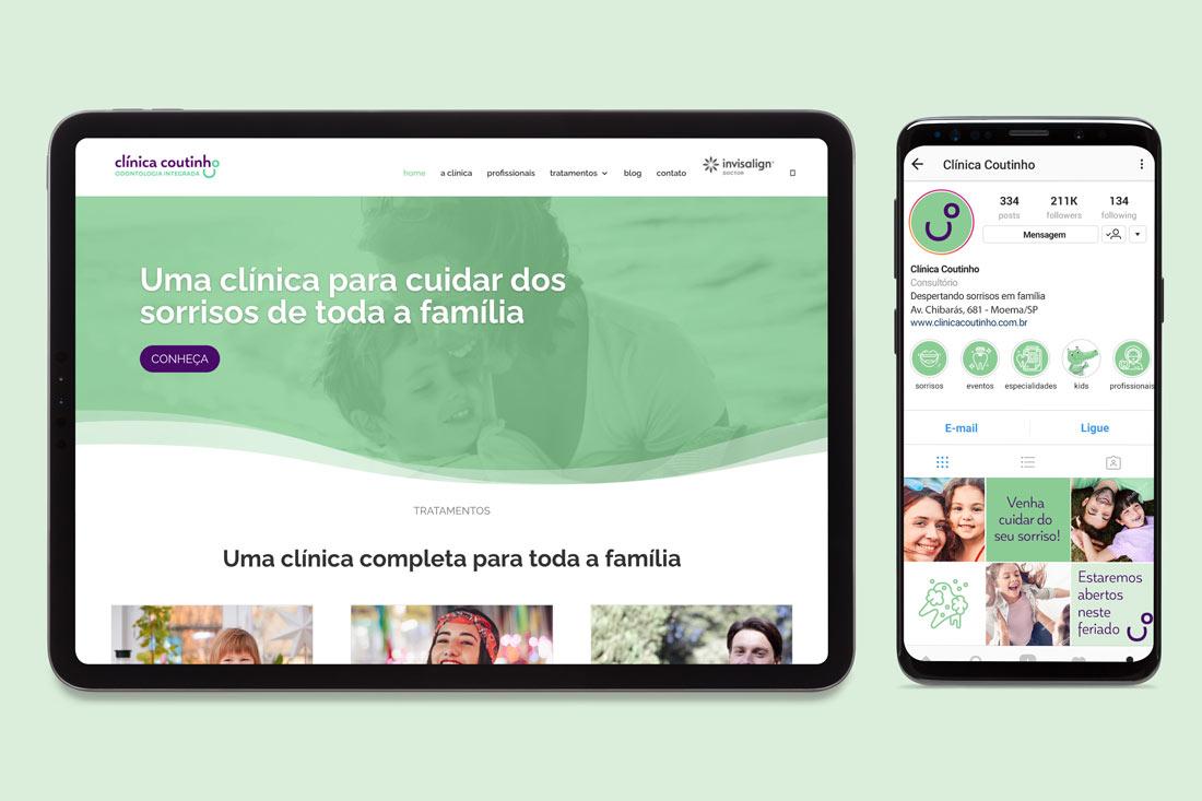 design-website-redes-sociais-clinica-odontologica