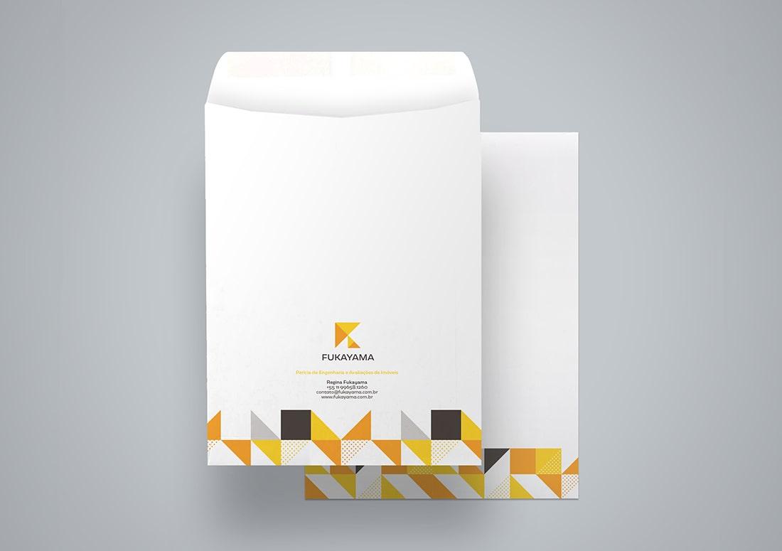 imagem de envelopes personalizados